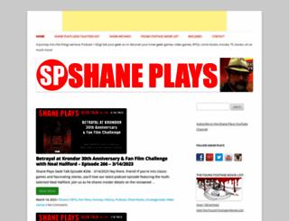 shaneplays.com screenshot