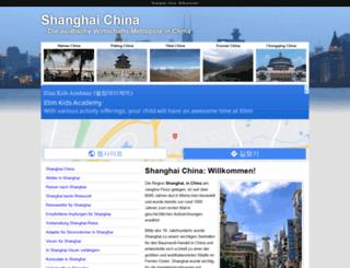 shanghai-china.de screenshot