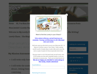 shanjeniah.wordpress.com screenshot