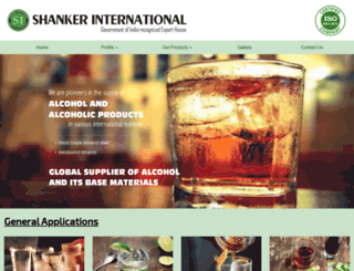 shankerinternational.in screenshot