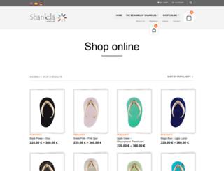 shanklabypaves.com screenshot