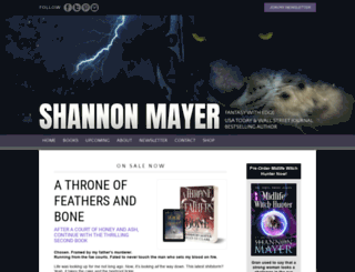 shannonmayer.com screenshot