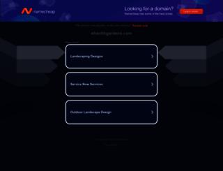 shantihgardens.com screenshot
