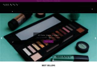 shanycosmetics.com screenshot