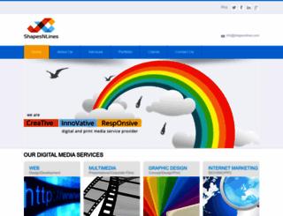 shapesnlines.com screenshot