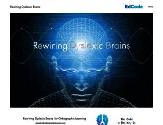 shapingbrains.org screenshot