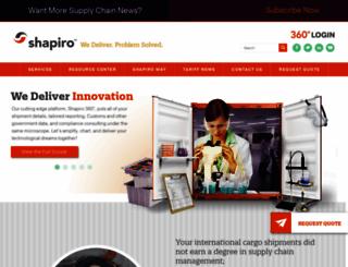 shapiro.com screenshot