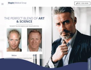 shapiromedical.com screenshot