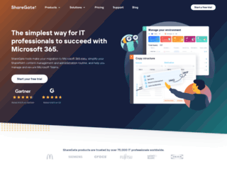 share-gate.com screenshot
