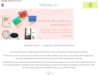 share.peachandlily.com screenshot