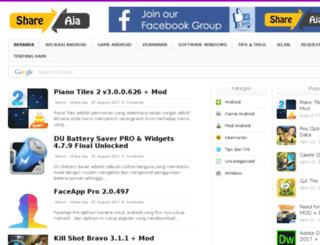 shareaja.com screenshot