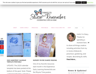 shareandremember.blogspot.com screenshot