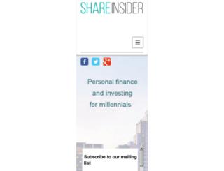 shareinsider.co.uk screenshot