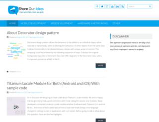 shareourideas.com screenshot