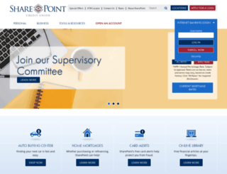 sharepointcu.com screenshot