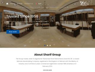 sharifgroup.com screenshot