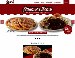 sharis.com screenshot