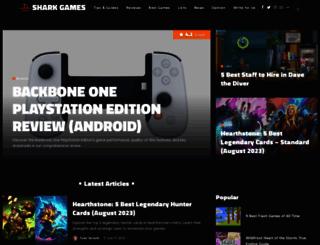 shark-games.net screenshot