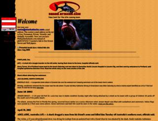 sharkattacks.com screenshot