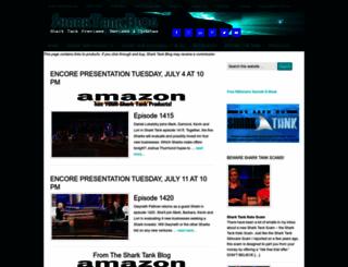 sharktankblog.com screenshot