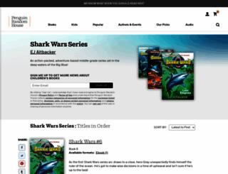 sharkwarsseries.com screenshot