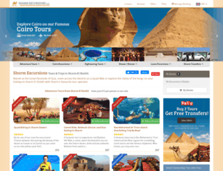 sharmexcursions.com screenshot