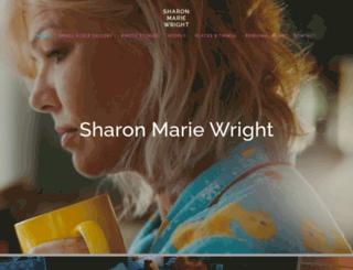 sharon-wright.squarespace.com screenshot