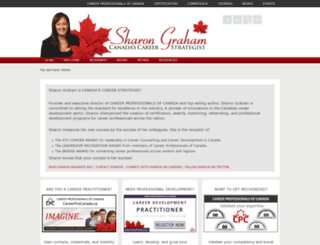 sharongraham.ca screenshot