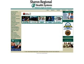 sharonregional.com screenshot