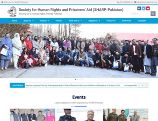 sharp-pakistan.org screenshot
