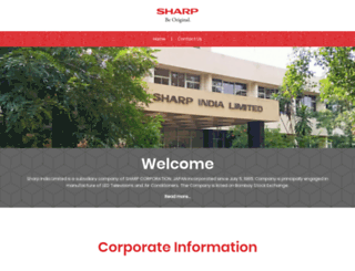 sharpindialimited.com screenshot
