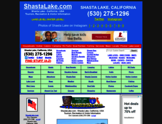 shastalake.com screenshot
