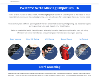 shavingemporium.co.uk screenshot