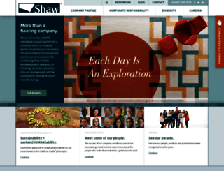 shawinc.com screenshot