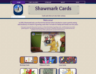 shawmarkcards.com screenshot