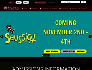 shawneecc.edu screenshot