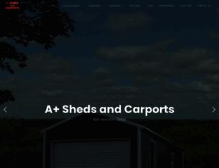 shedsandcarports.com screenshot