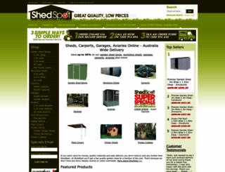 shedspot.com.au screenshot