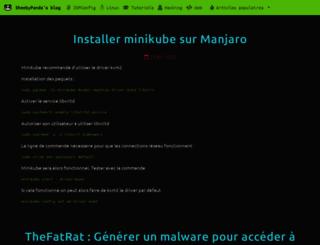 sheebypanda.com screenshot
