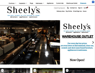 sheelys.com screenshot