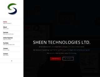 sheentechnologies.com screenshot