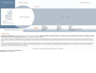 sheetalsalescorp.com screenshot
