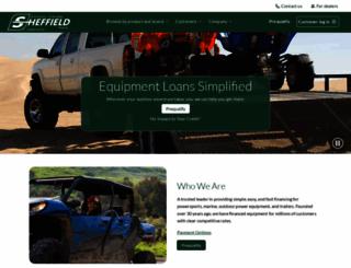 sheffieldfinancial.com screenshot