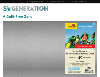 shegeneration.com screenshot
