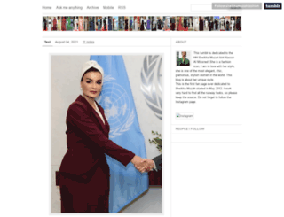 sheikhamozahfashion.tumblr.com screenshot