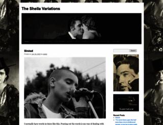 sheilaomalley.com screenshot
