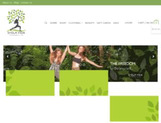 shelavida.com screenshot