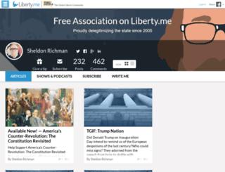 sheldon.liberty.me screenshot