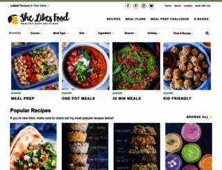shelikesfood.com screenshot