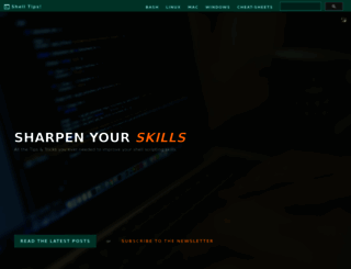 shell-tips.com screenshot